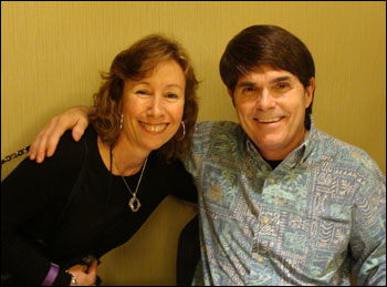Pamela with Dean Koontz at the RT Booklovers Convention April 2011