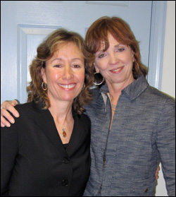 Pamela and Nora Roberts at Turn the Page Bookstore Feb. 2011